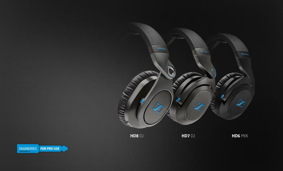 sennheiser hd6 mix noise reducing headphones over ear. Black Bedroom Furniture Sets. Home Design Ideas