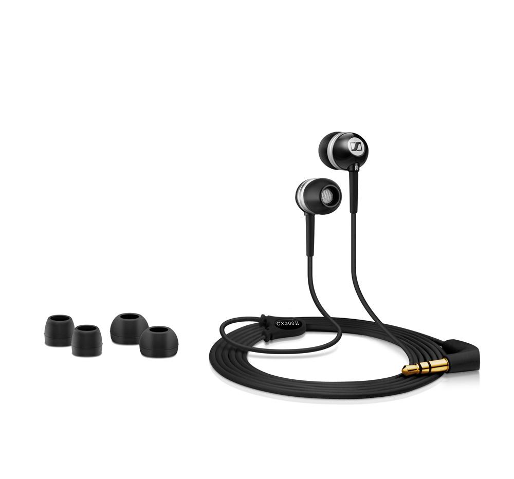 Sennheiser CX 300-II Noise cancelling Earphones Headphones