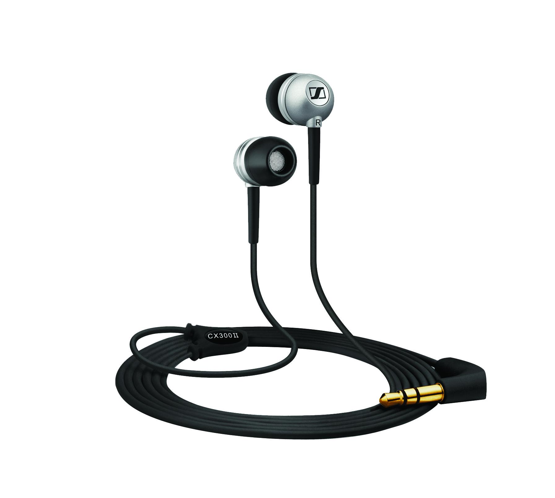 Sennheiser CX 300-II Noise cancelling Earbuds Headphones