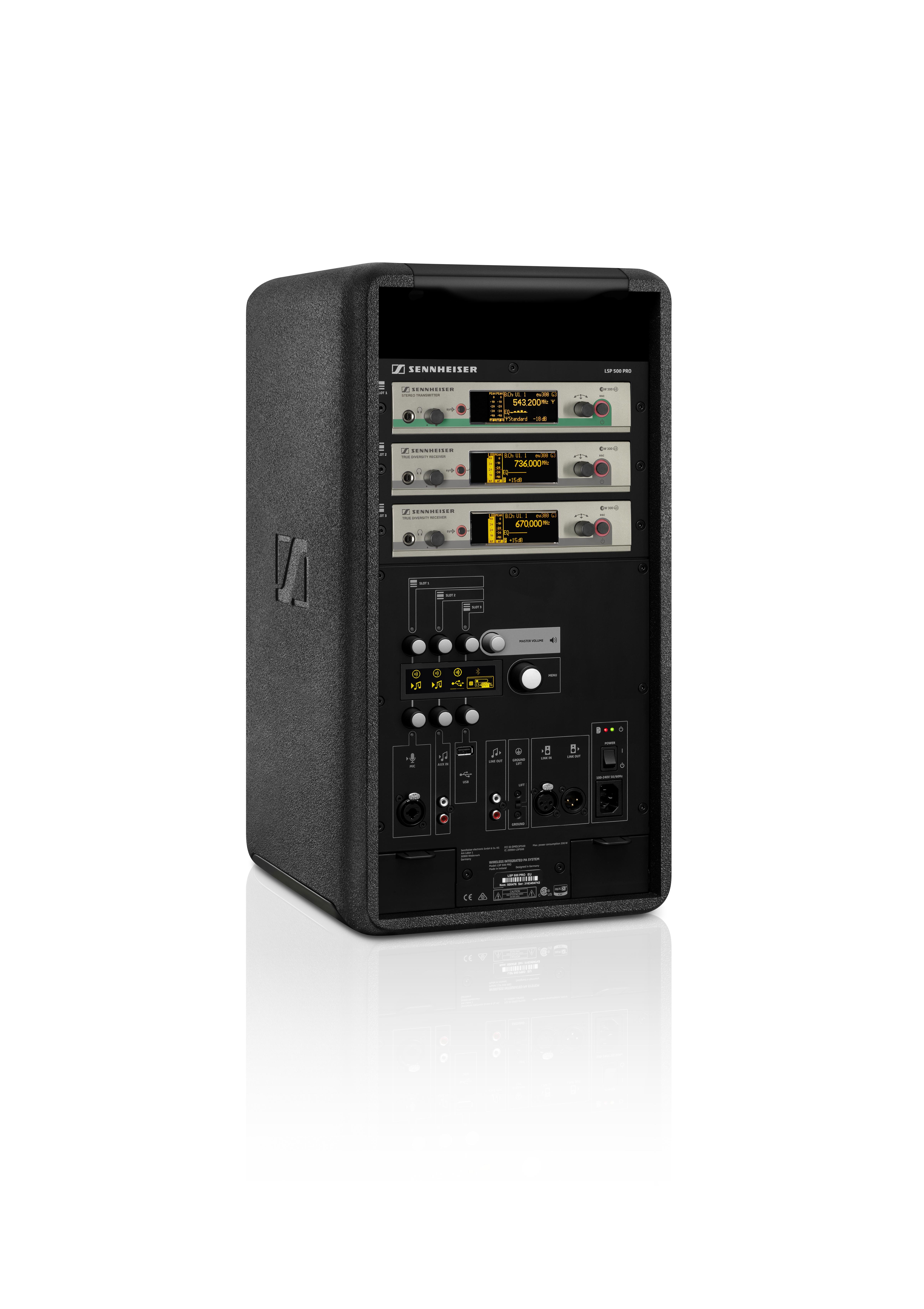 Sennheiser LSP 10 PRO - Wireless Loudspeaker Sound System - Live