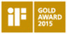 IF Gold Award 2015 award logo
