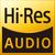 Hi-Res Audio award logo