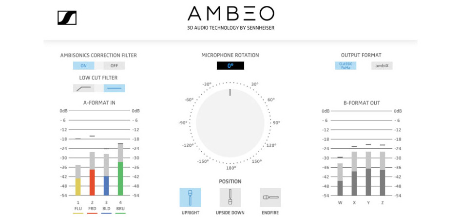 Ambeo for virtual reality capturing in ambisonics malvernweather