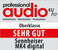 Professional Audio 02 2017 award logo