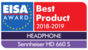 EISA Award 2018-2019, HD 660 S award logo