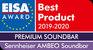 EISA Award 2019-2020, Sennheiser Ambeo Soundbar award logo