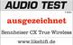 Audio Test ausgezeichnet award logo