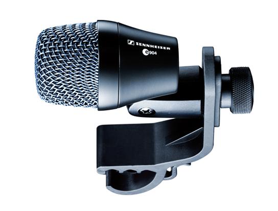*Sennheiser e 904 Mikrofon für Snare und Tom-Toms*