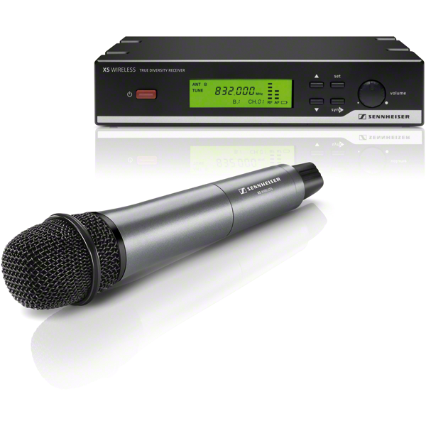 sennheiser xsw 35 wireless vocal microphone system for singers speakers and presenters. Black Bedroom Furniture Sets. Home Design Ideas