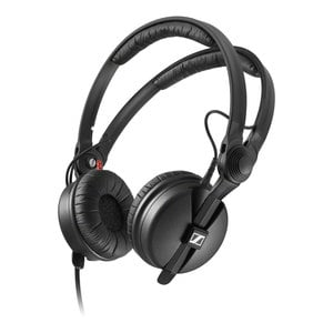 sennheiser hd 25 on ear dj headphone noise reduction powerful bass response. Black Bedroom Furniture Sets. Home Design Ideas