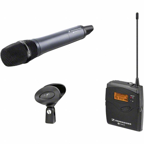 sennheiser ew 135 p g3 wireless microphone vocal voice system interviews und reporting. Black Bedroom Furniture Sets. Home Design Ideas