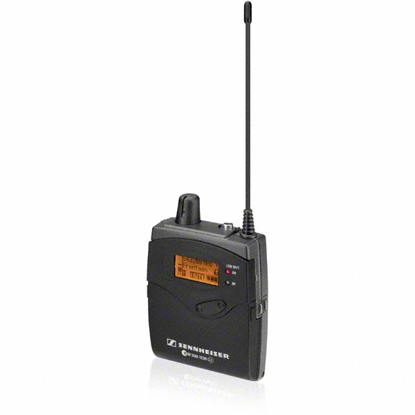 sennheiser ek 300 iem g3 wireless microphone bodypack receiver for monitoring system. Black Bedroom Furniture Sets. Home Design Ideas