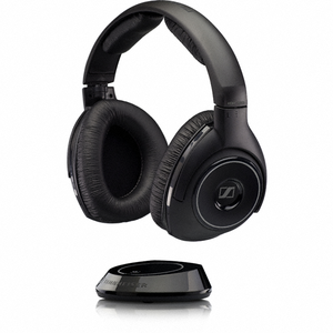 Sennheiser RS 160 - Wireless Audio Headphones Digital - Stereo Bass