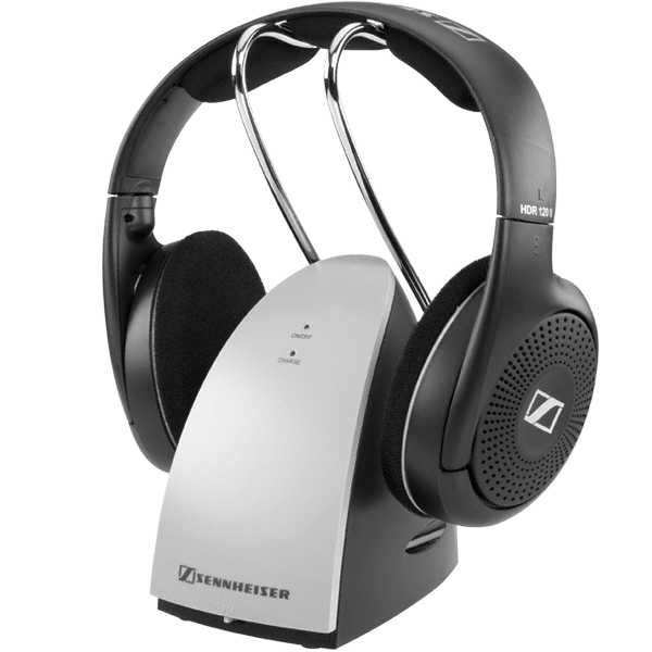 how to connect sennheiser wireless headphones to tv