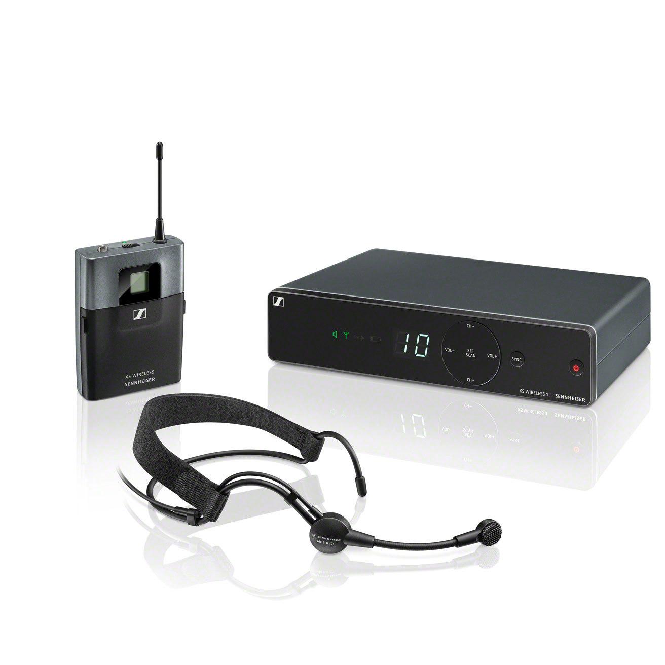 #Sennheiser XSW 1-ME3-A Drahtloses Nackenbügelmikrofon Mikrofonsystem#