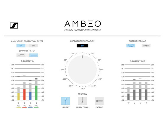 Sennheiser Ambeo Vr Mic Microphone 3d Audio Capture. Ambeo Ab Format Converter Plugin. Wiring. Realistic Fm Wireless Microphone System Diagram At Guidetoessay.com