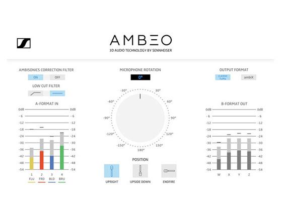 AMBEO A-B formatkonverterings-plugin