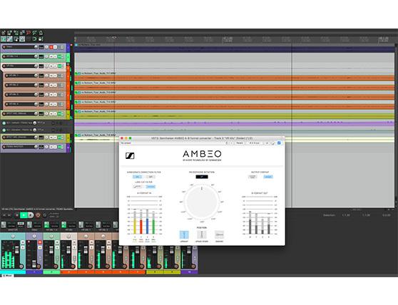 Для начала работы с технологией AMBEO для VR попробуйте покрутить сессию записи для программы Reaper