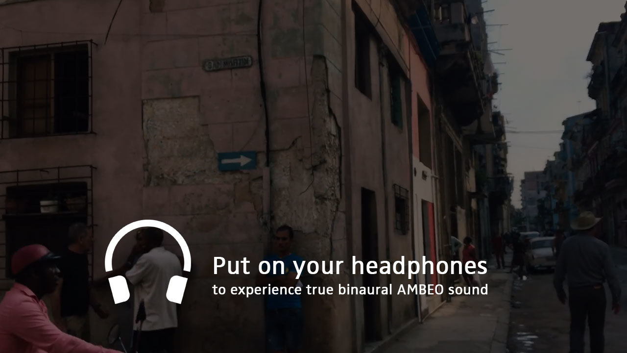 Ambeo Smart Headset   Locals Project U201cCuba Old Havanau201d