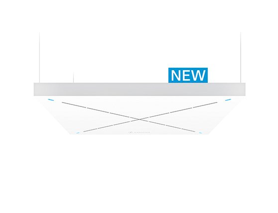 New TeamConnect Ceiling 2 - Ceiling Microphone with Dante™