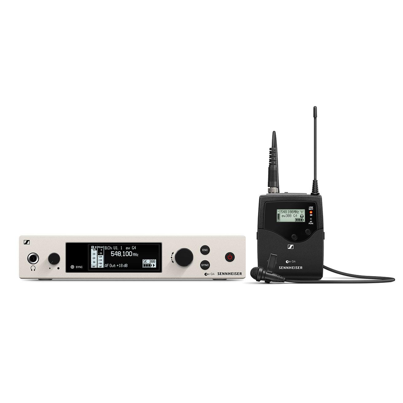 Sennheiser EW 300 G4-ME2-RC Wireless Lavalier Microphone System