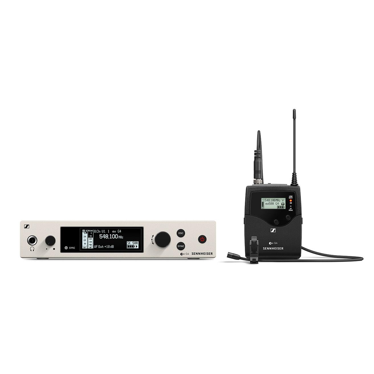 Sennheiser EW 500 G4-MKE2 Wireless Lavalier Microphone System