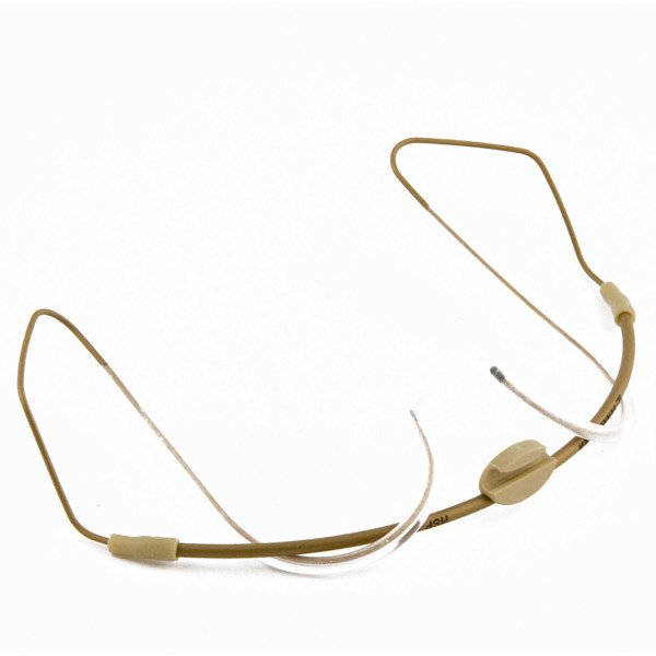 Neckband without clips, beige