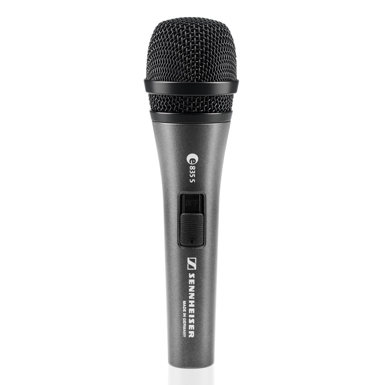 Sennheiser E825S Cardioid Handheld Dynamic Vocal Microphone W/ Switch