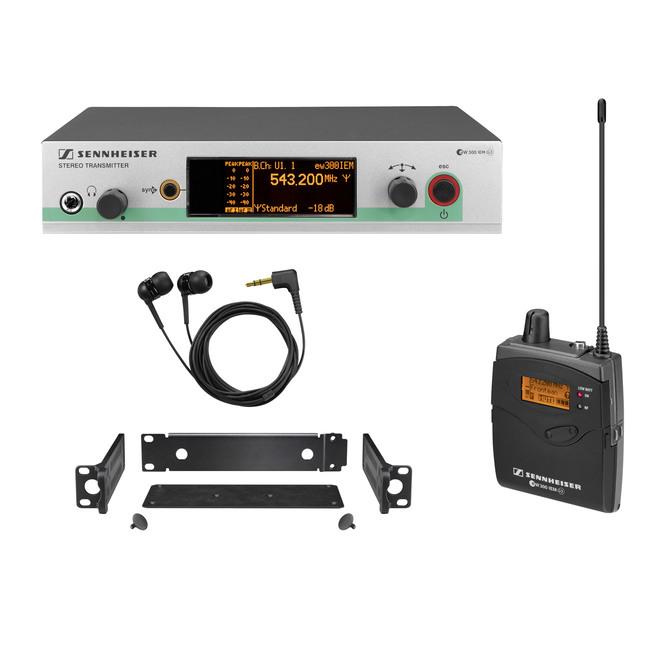 Wireless Monitoring System ew 300 IEM G3| Sennheiser