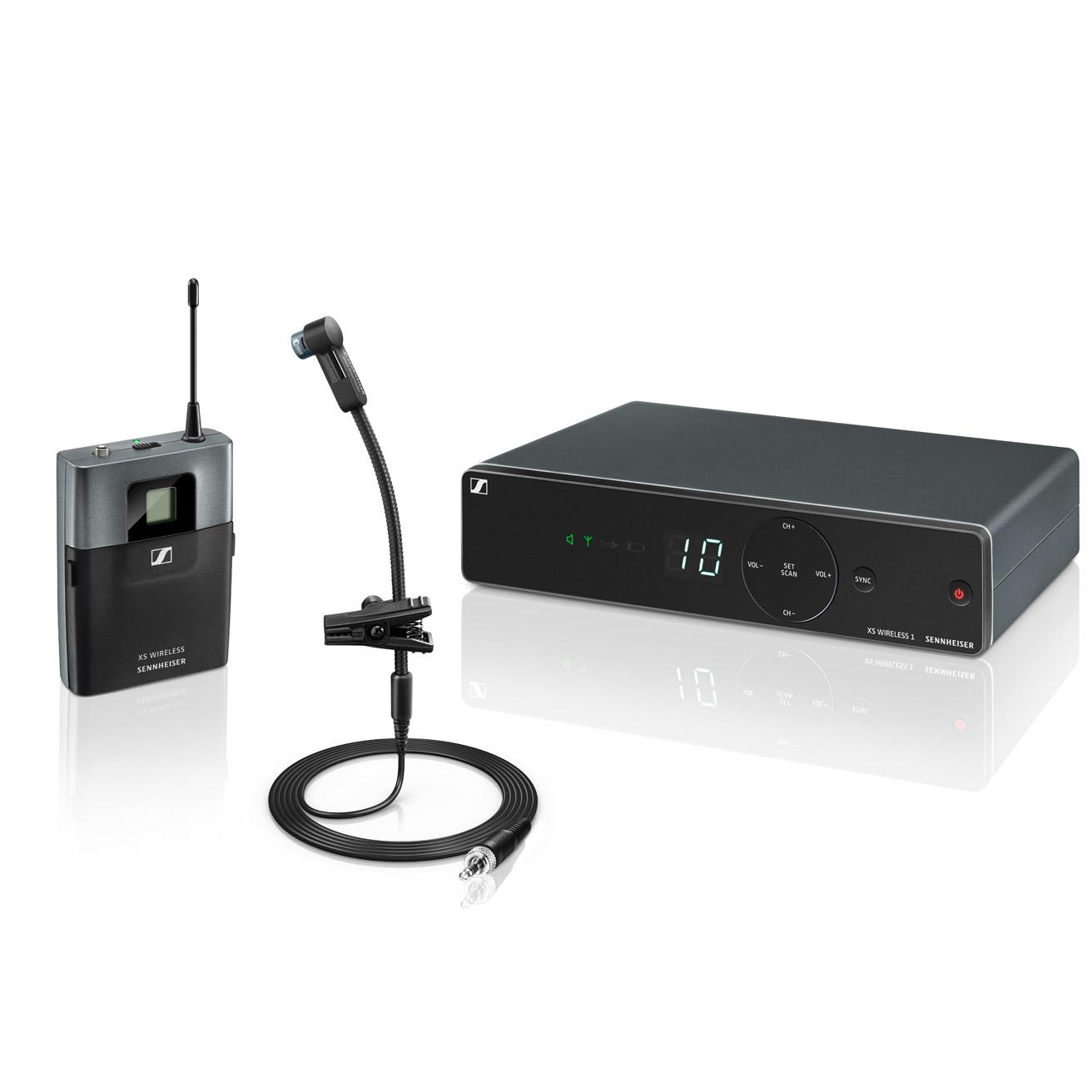 Sennheiser XSW 1-908 Wireless Instrument Microphone System – A Range