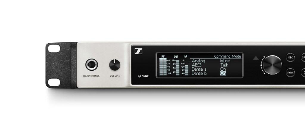 Sennheiser Digital 6000 - Wireless two-channel receiver Live audio