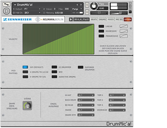 Sennheiser DrumMic'a - - GET THE PERFECT BEAT! With DrumMic'a!, you
