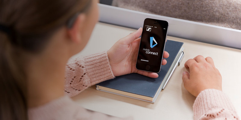 MobileConnect App – Assisted Listening | Sennheiser