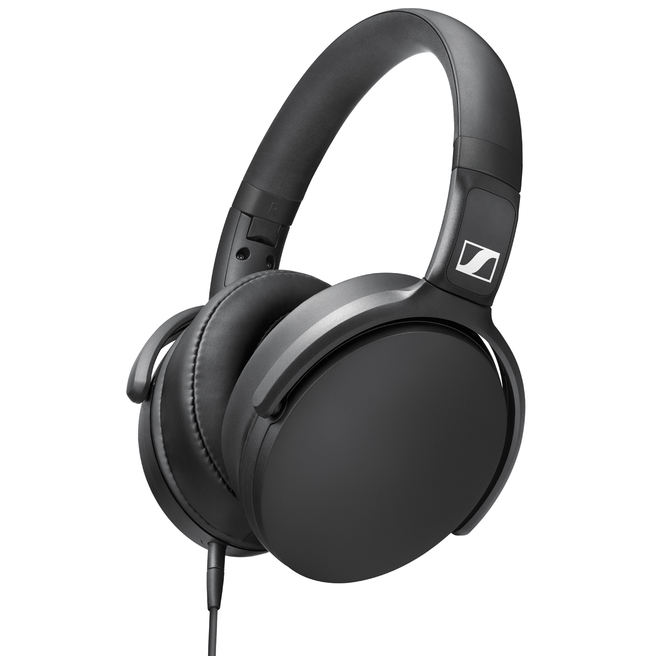 Sennheiser Hd 400s The Hd 400s Features A One Button Smart Remote Conveniently Located On The Cable Which Allows You To Control Music And Take Calls With Ease And The Sturdy