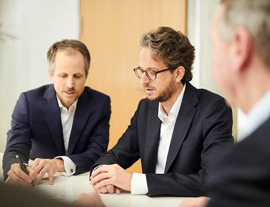 Dr. Andreas Sennheiser and Daniel Sennheiser