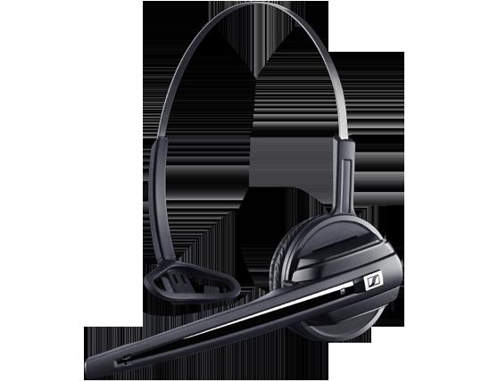 Sennheiser d 10 phone headset wireless dect headset office desk phone - Phone headsets for office ...