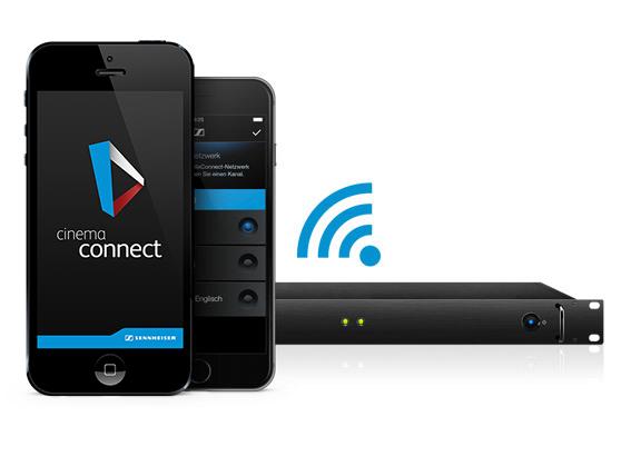 sennheiser cinemaconnect hearing aid app amp visual aid app