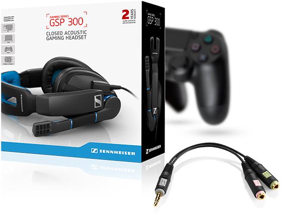 sennheiser gsp 300 series gaming headsets pc mac. Black Bedroom Furniture Sets. Home Design Ideas
