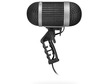 Freesize thumb esfera microphone unit with windshield basket